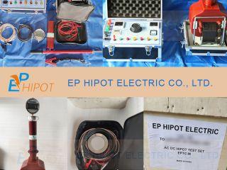 100kV AC/DC Hipot Test Kit EPTC-M Delivered
