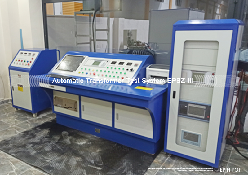 The Applications of EPBZ Transformer Testing Panel / Bench