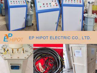 EPTC 50kVA 100kV ACDC Hipot Tester Delivered