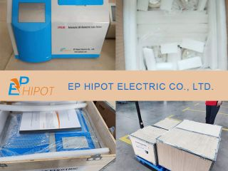 4 Sets of Automatic Oil Dielectric Loss Tester EPOL60 Delivered