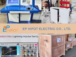 Lightning Impulse Test System EPDY-300kV 30kJ Delivered