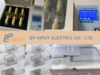 3 Test Cells 100kV  Automatic Oil Breakdown Voltage Tester Delivered