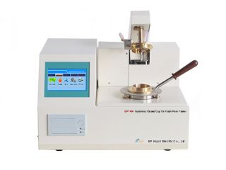 Oil Closed Cup Flash Point Tester  ASTM D93 (Pensky Martens Flash Point)